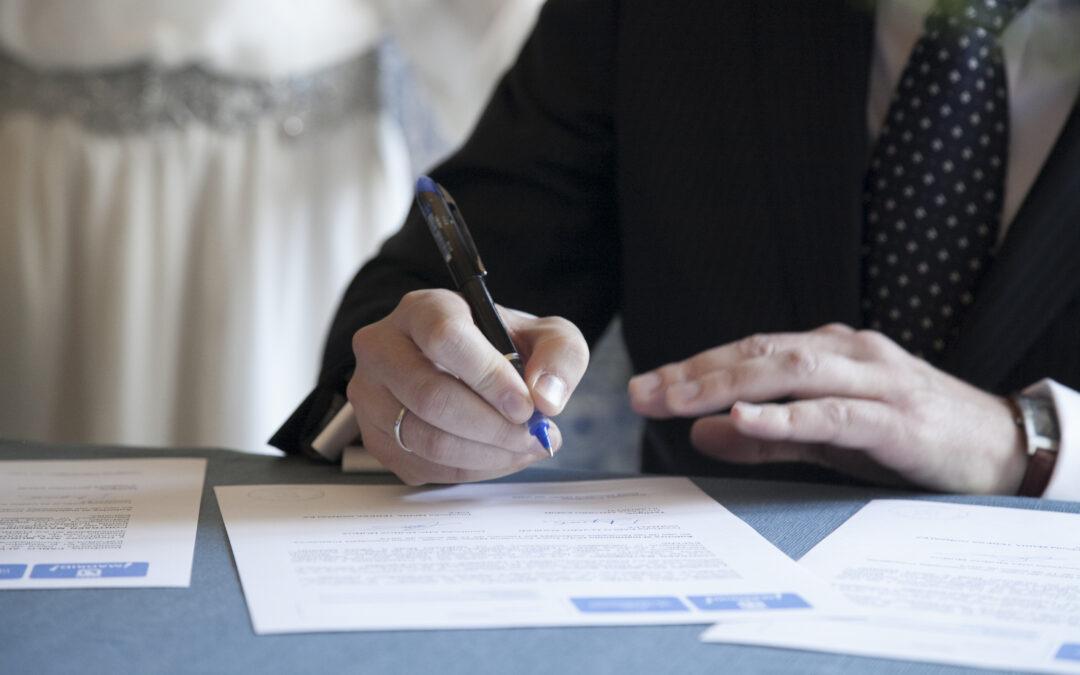 Trámites para la boda civil