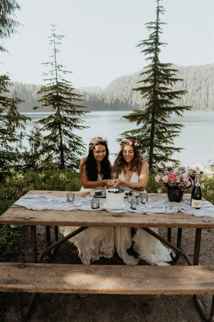 Bodas íntimas o elopement wedding
